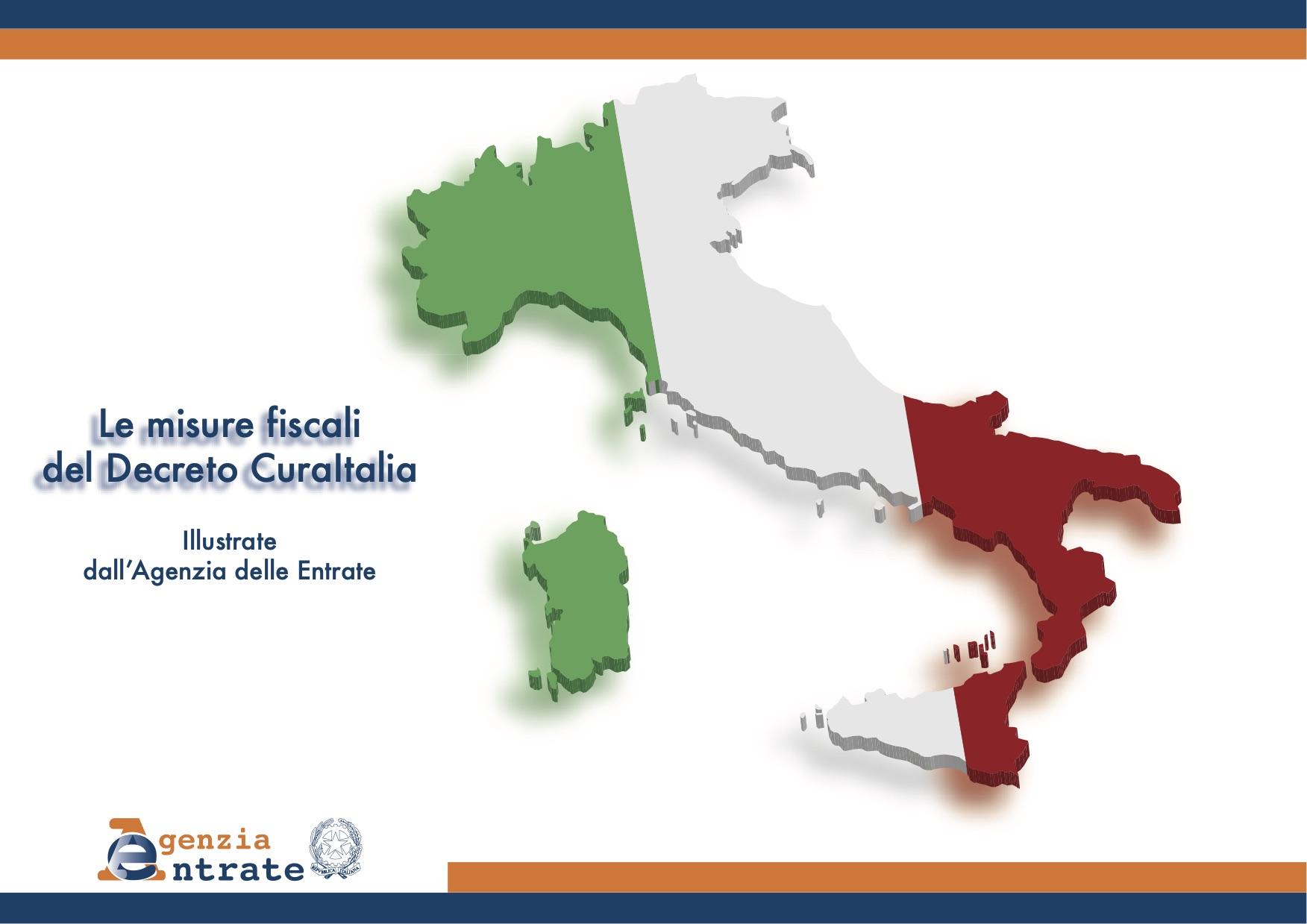 Le misure fiscali del DL Cura Italia